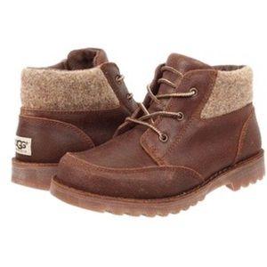 Ugg boys Sz 2 Orin Water Resistant Wool Boot